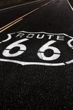 Amerikansk moderväg Route 66 Arkivfoton