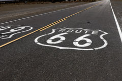 Amerikansk moderväg Route 66 Royaltyfria Foton