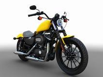 amerikansk motorbike Arkivbild