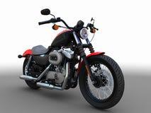 amerikansk motorbike Royaltyfri Foto