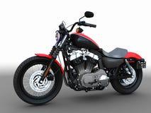 amerikansk motorbike Royaltyfria Foton
