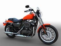 amerikansk motorbike Arkivfoton