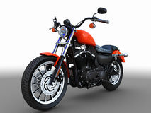 amerikansk motorbike Arkivfoto