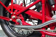 Amerikansk motorcykelindier fyra från året 1931 Arkivfoton