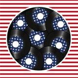 Amerikansk musik Arkivfoto