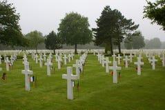 Amerikansk nationell kyrkogård Arkivbilder