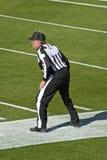 Amerikansk NFL-fotbolldomare Fotografering för Bildbyråer