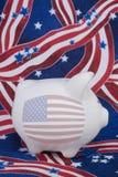 amerikansk patriotism Arkivbild
