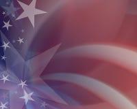 amerikansk patriotism Royaltyfria Foton