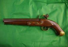Amerikansk pistol för Flintlock, circa 1780, 50 cal Royaltyfri Bild