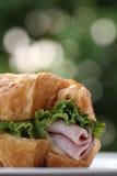 amerikansk snabbmatskinksmörgås Arkivbilder