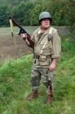 amerikansk soldat royaltyfri fotografi