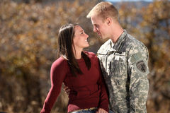 amerikansk soldat Royaltyfri Bild