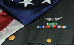 amerikansk soldat Arkivbild