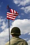 amerikansk soldat Royaltyfria Foton