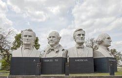 Amerikansk statskonst parkerar i Houston, Texas Fotografering för Bildbyråer