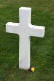 amerikansk strandkyrkogård france normandy omaha arkivfoto