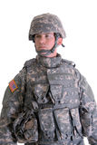 amerikansk stridsoldat Royaltyfria Bilder