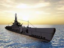 amerikansk ubåt Royaltyfri Foto