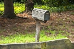 Amerikansk utomhus- brevlåda Arkivbilder