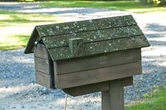 Amerikansk utomhus- brevlåda Arkivbild
