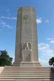 Amerikansk WW1 monument, Sommepy, Frankrike Royaltyfria Bilder