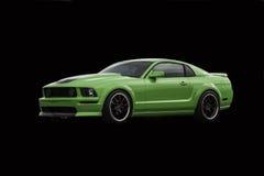 amerikanska bilsportar Arkivbild