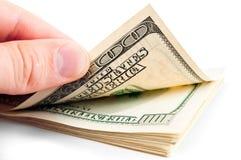 amerikanska dollar royaltyfri bild