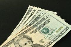 amerikanska dollar Royaltyfri Fotografi