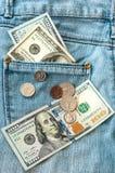 amerikanska dollar Arkivfoton