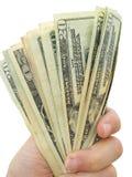 amerikanska dollar Arkivbilder