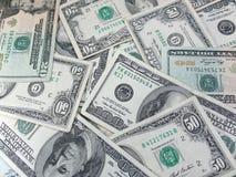 Amerikanska dollar arkivfoto