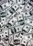 amerikanska dollar pengar Royaltyfri Foto