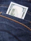 Amerikanska dollarBills Fotografering för Bildbyråer