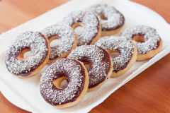 Amerikanska donuts Royaltyfria Bilder