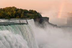 Amerikanska Falls Arkivbilder