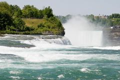 amerikanska falls Royaltyfria Foton