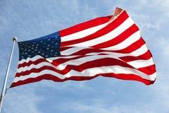amerikanska flaggan 022 Arkivbild