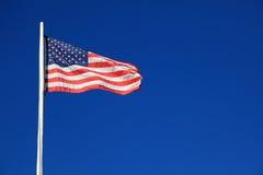 amerikanska flaggan Royaltyfria Foton
