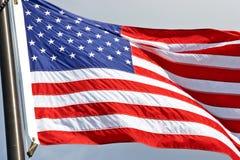 amerikanska flaggan Royaltyfri Fotografi