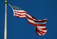 Amerikanska flaggan. Royaltyfria Foton