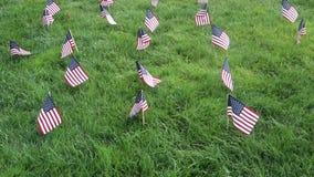amerikanska flaggan lager videofilmer