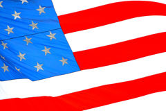 amerikanska flaggan Arkivbilder