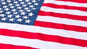 amerikanska flaggan close upp Amerikanska flagganbakgrund Begrepp av patriotism royaltyfria foton