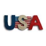 Amerikanska flaggan för självständighetsdagen Royaltyfri Foto