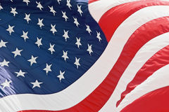 amerikanska flaggan oss Arkivbild