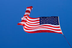 Amerikanska flaggan (stjärnor och band) Royaltyfri Foto