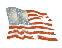 Amerikanska flagganbakgrund royaltyfri foto
