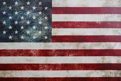 Amerikanska flagganbakgrund Royaltyfri Fotografi