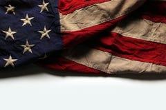 Amerikanska flagganbakgrund för Memorial Day eller 4th av Juli Royaltyfria Bilder